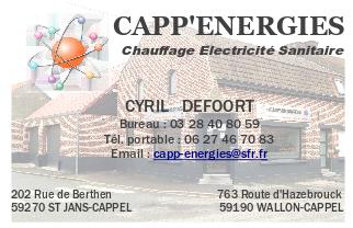 Carte de visite CAPP ENERGIES