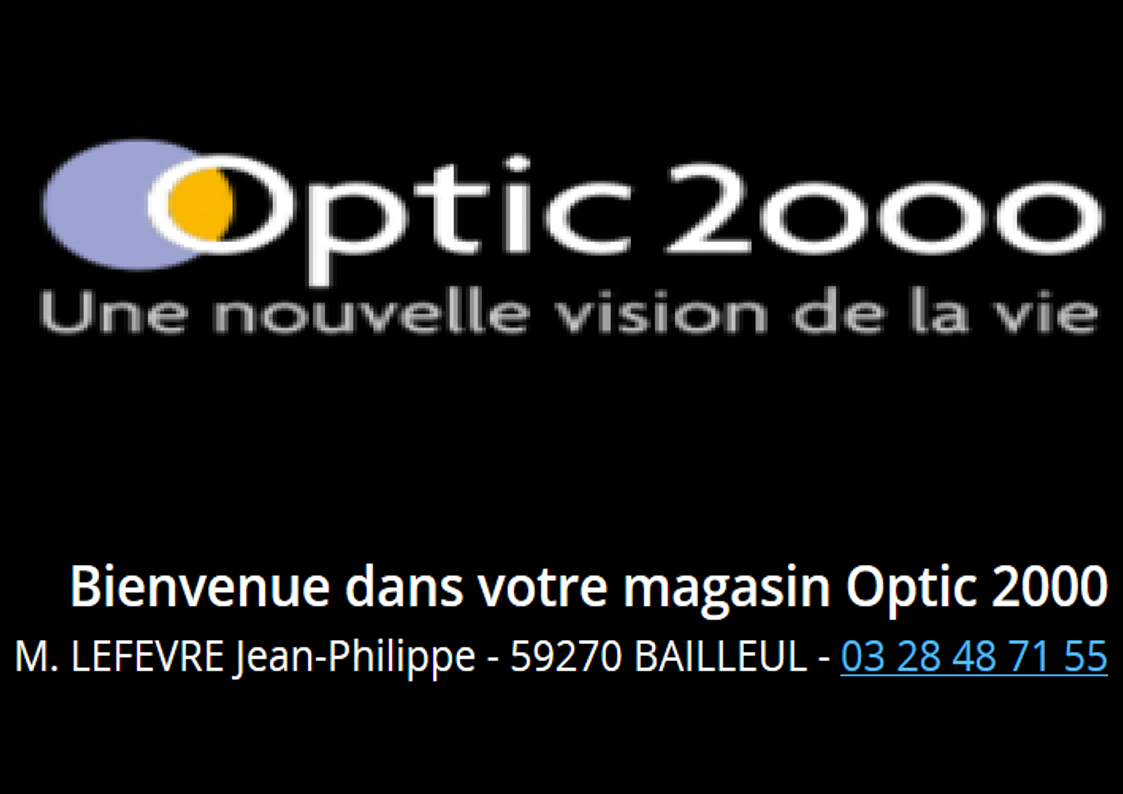 optic 2000 bailleul